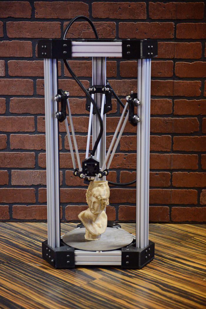 DeltaMaker    http://www.kickstarter.com/projects/deltamaker/deltamaker-an-elegant-3d-printer-0?ref=search