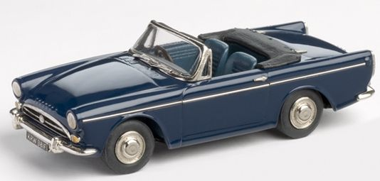Brooklin Models Lansdowne 1/43 scale model of the1966 Sunbeam Tiger diecast in white metal with photo-etched details.