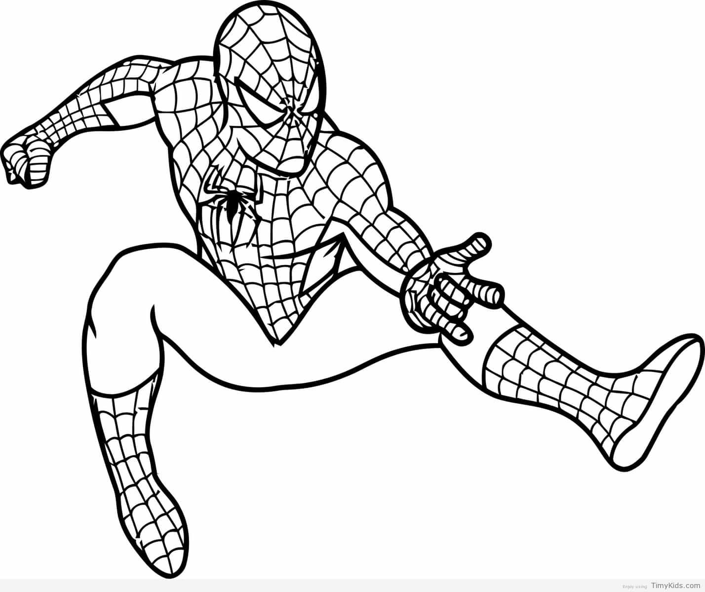 http://timykids.com/spiderman-drawing-for-kids.html | Colorings ...