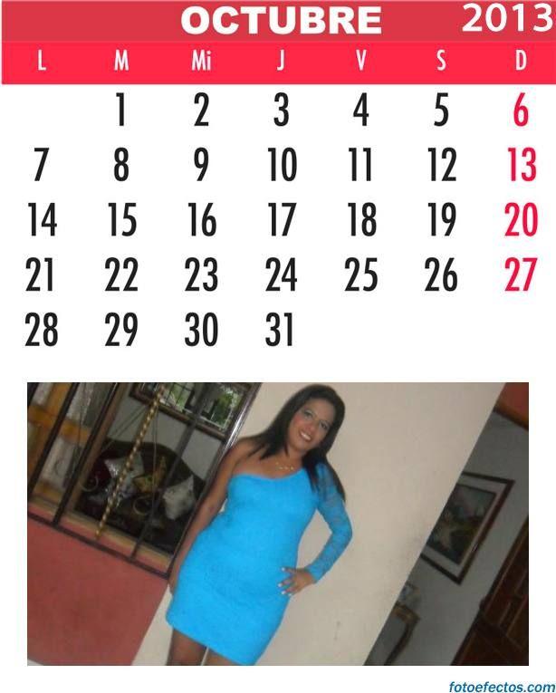 Fotoefectos Fotoefectos Com Meses Del Año Calendario Octubre