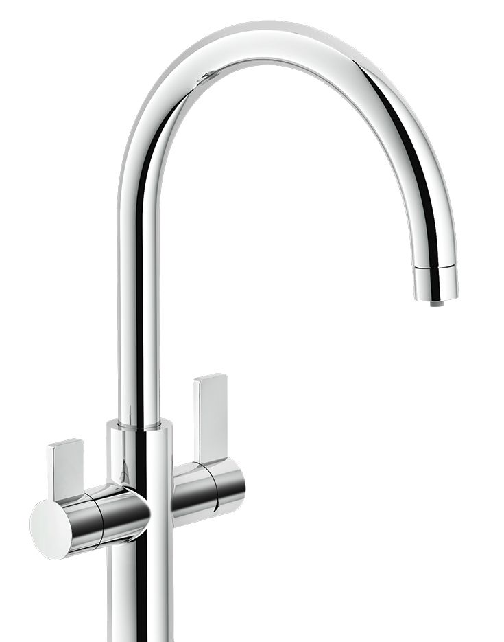 Franke\'s 3-in-1 Filtration Faucets produce hot, cold and filtered ...