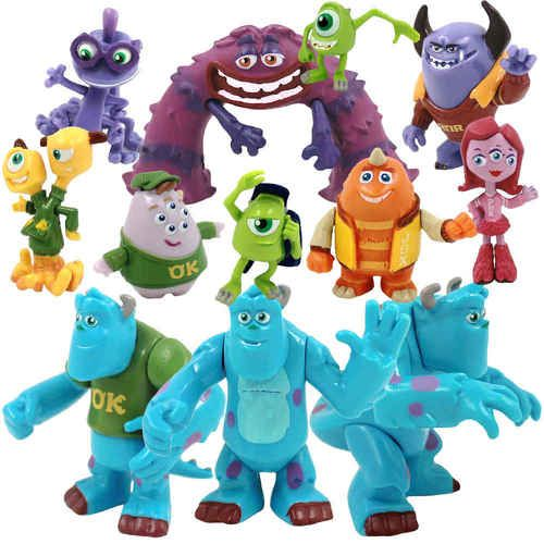 Monsters Inc. Monsters University Mike Sully Action Figures