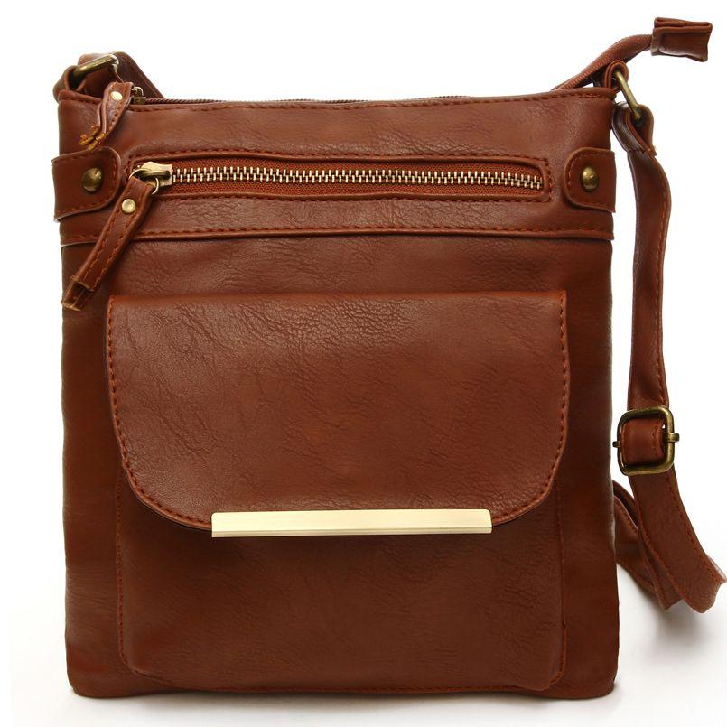 Hot Sale Crossbody Bags For Women Leather Handbags Vintage Bags For Women  Casual Girls Messenger Bag 6 Colors Bolsa Feminina 139ca18cb9262