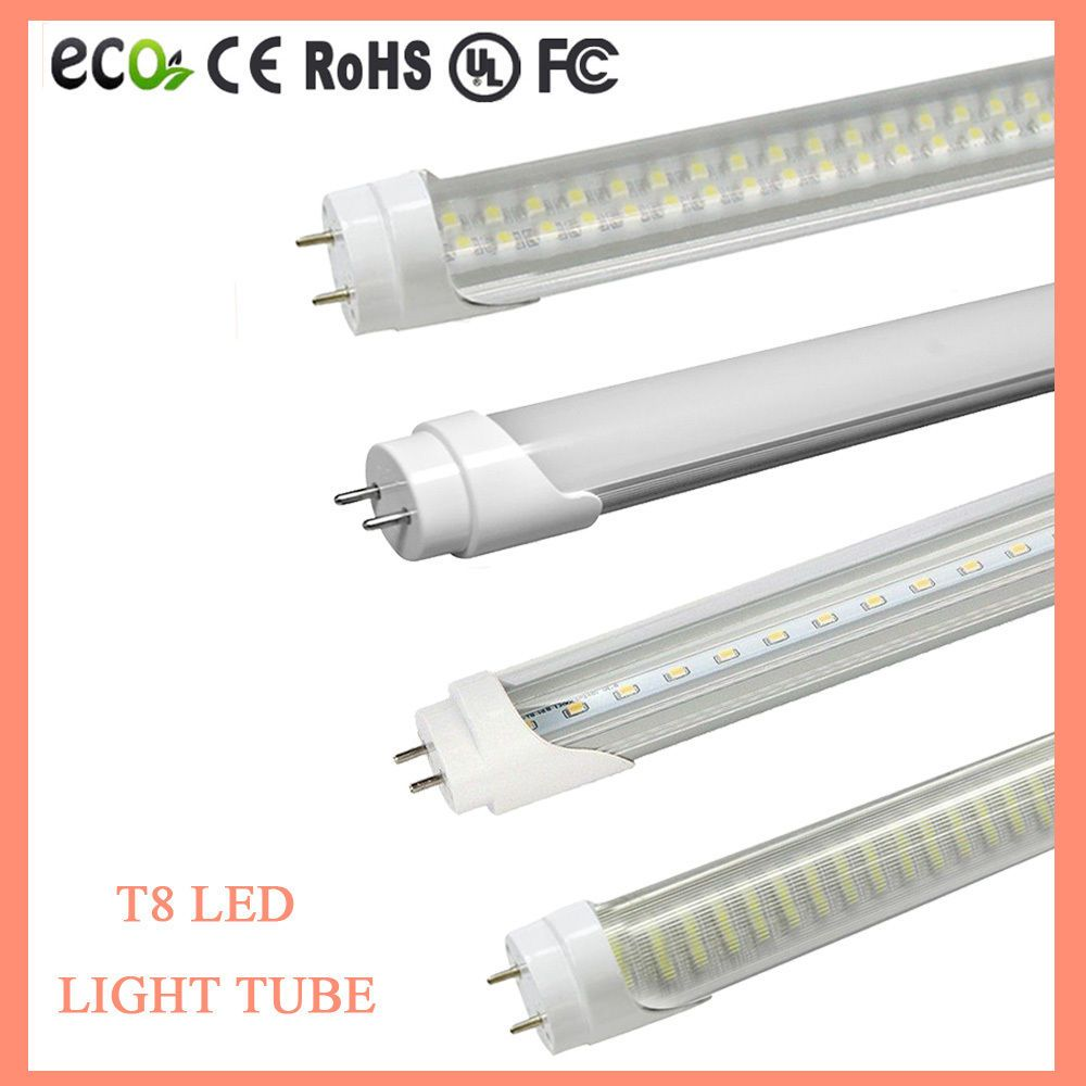 4 1000 Pack G13 LED 18w 4ft Foot 48 Inch T8 Fluorescent Tube Lights
