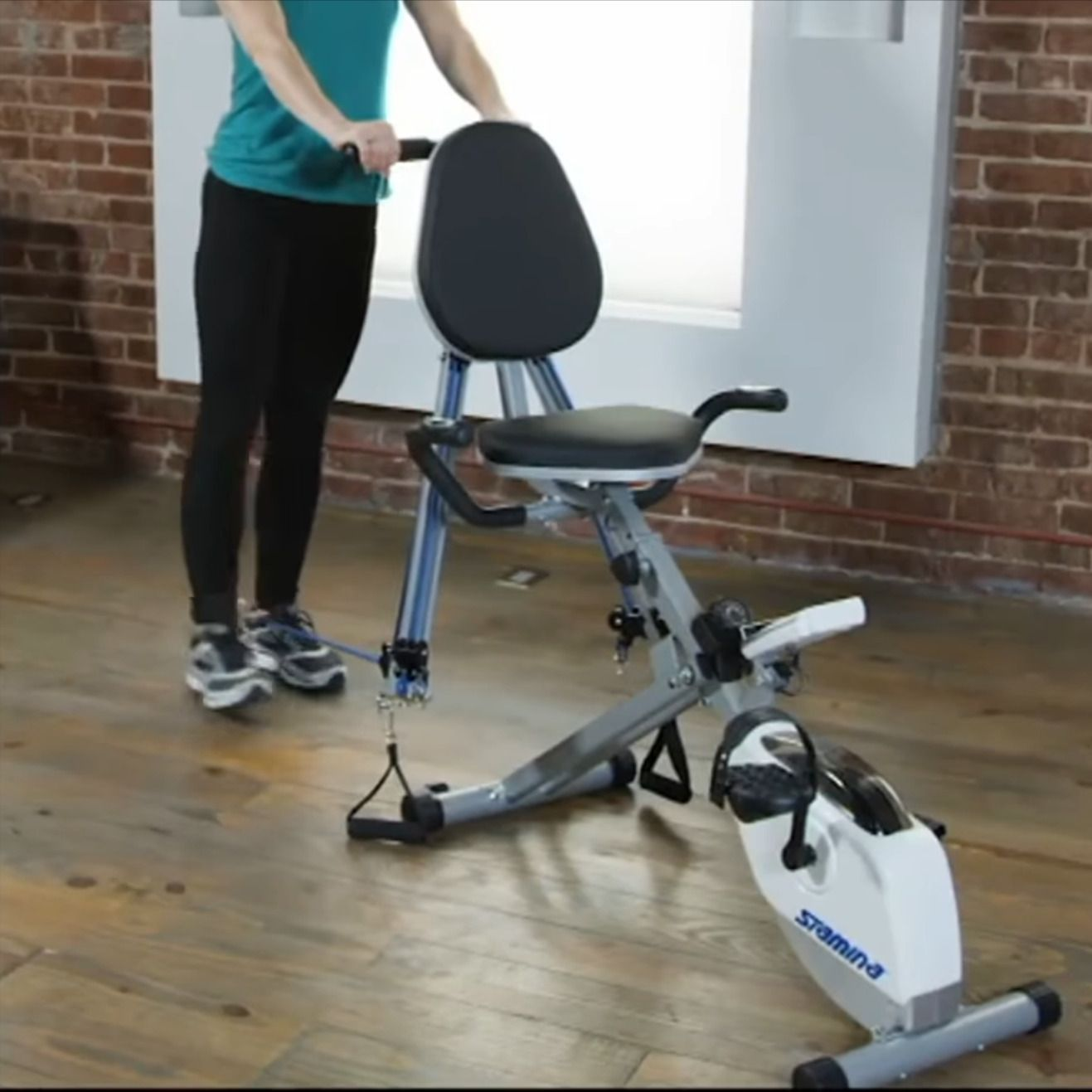 Intouch Fitness Monitor Recumbent Bike Workout Biking Workout Exercise Bikes