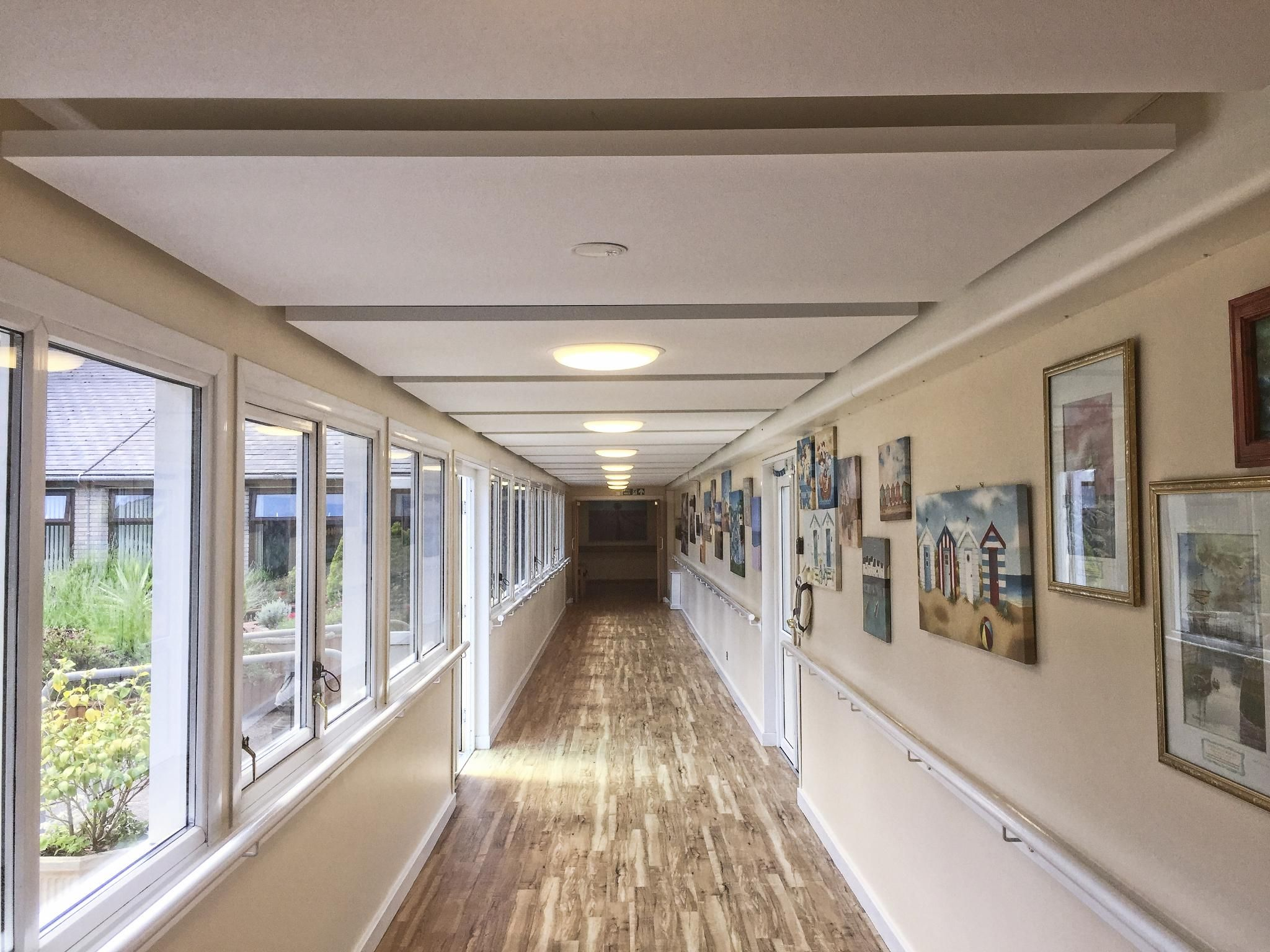 Corridor Design Ceiling: Pin By Armstrong Ceilings On Healthcare Ceilings