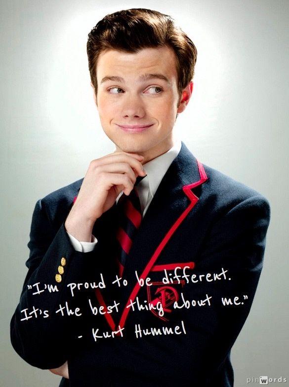 gorące nowe produkty Darmowa dostawa najlepsze buty Kurt Hummel #Quotes #Glee   glee   Glee quotes, Glee, Chris ...