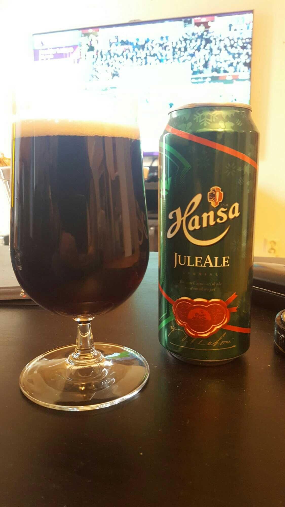 JuleAle (4.7) by Hansa Bryggerier Cerveza