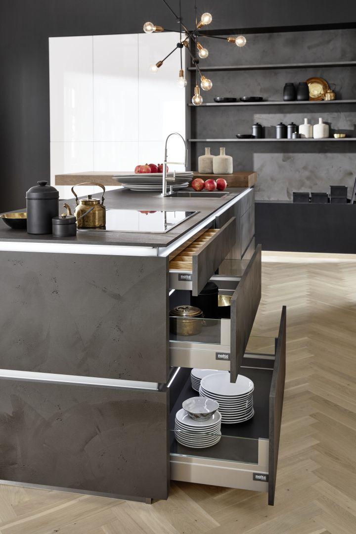 Wohnküchen: Platz zum Leben | nolte-kuechen.de | Küchen_ideen ... | {Nolte küchen arbeitsplatten holz18}