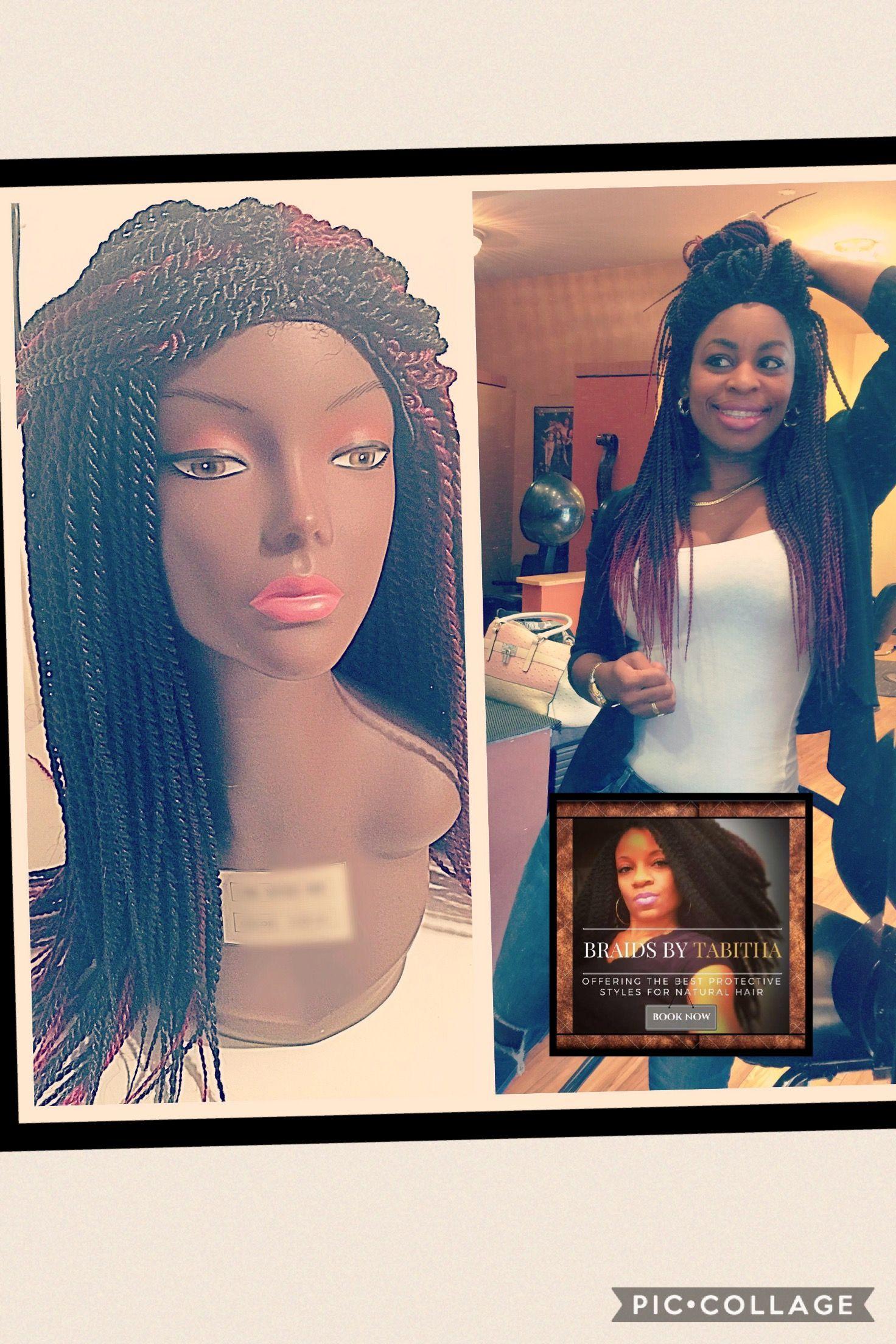 Crochet Senegalese Twist Wig Sale Price 99 Color Blackburgundy