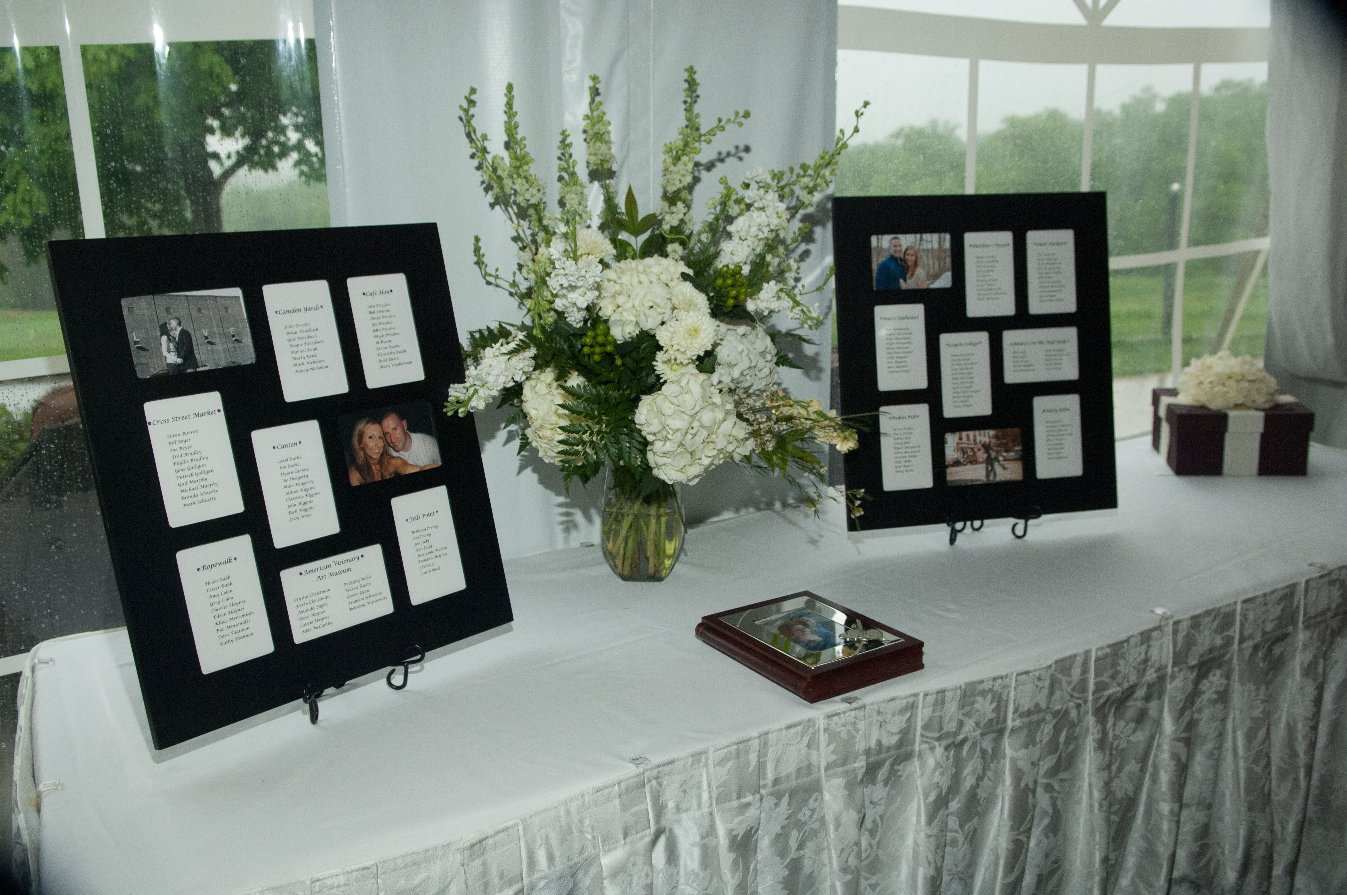 Wedding Table Assignments Frames From Walmart Wedding Table Assignments Table Assignments Wedding Table