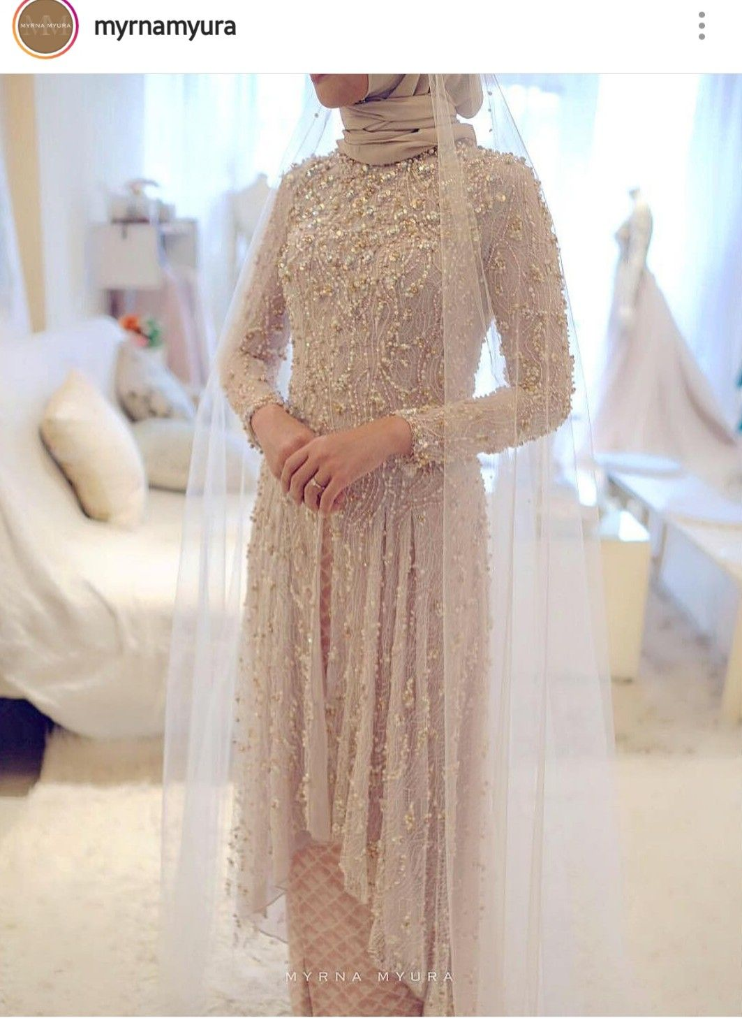 By MyrnaMyura  Gaun pengantin sederhana, Pakaian perkawinan