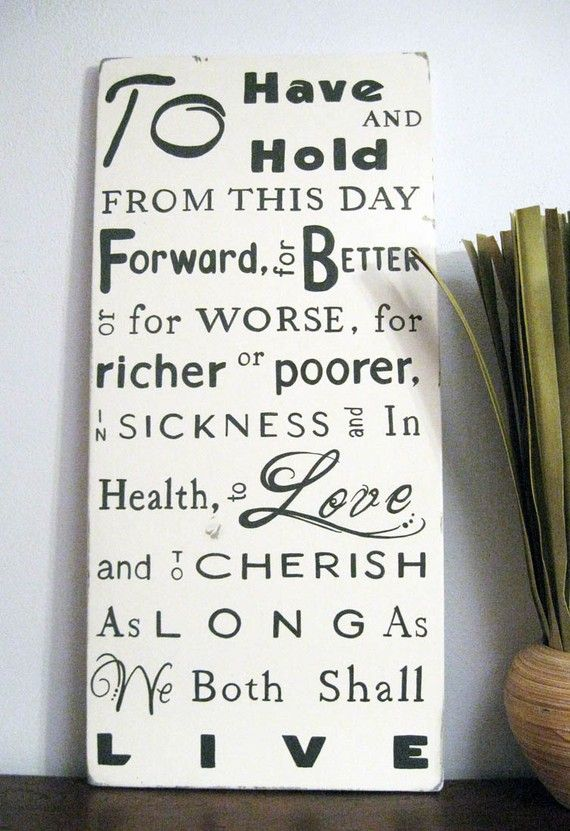 Wedding Vows Customized With Your Date 3 Wedding Vow Art Word Art Sign Wedding Vows