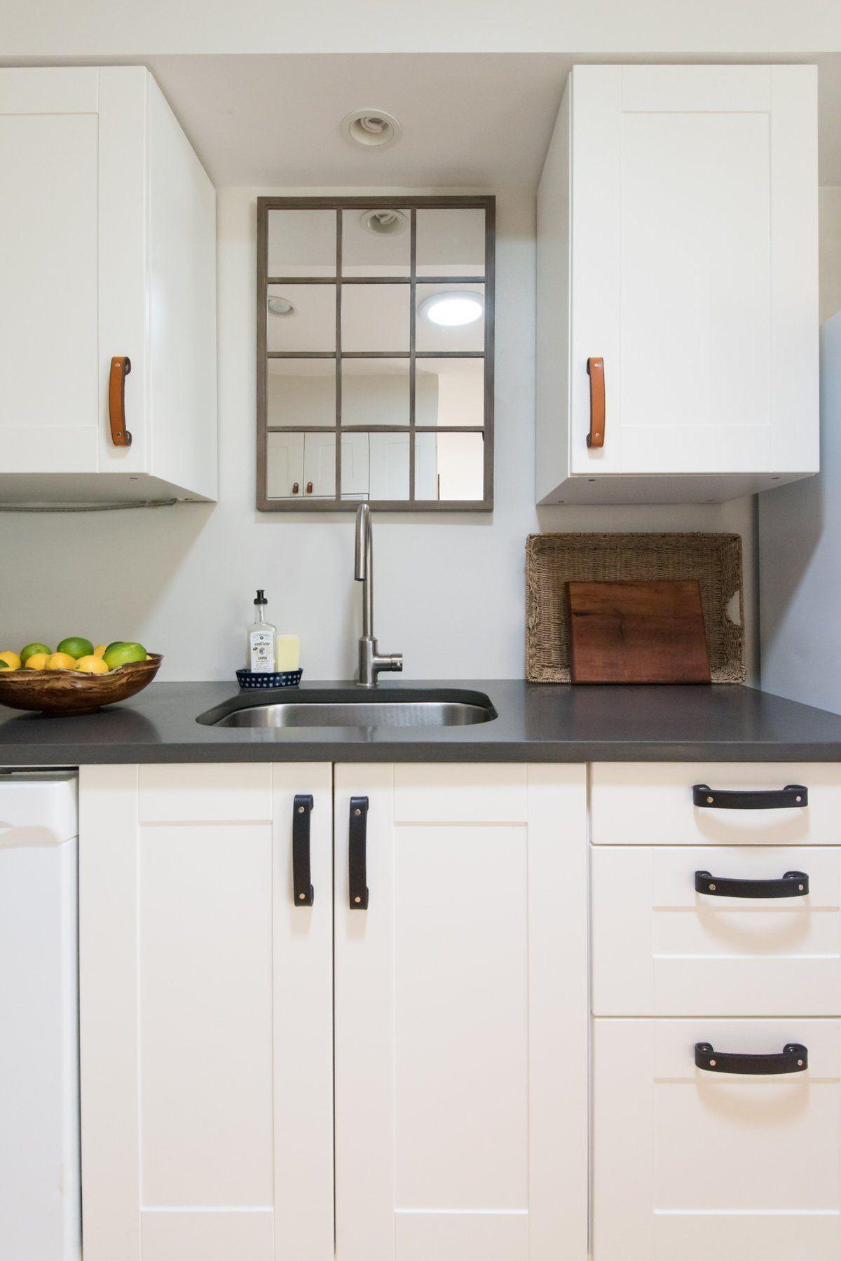 Leather Handle - The Tilikum - 3 Sizes | New kitchen ...
