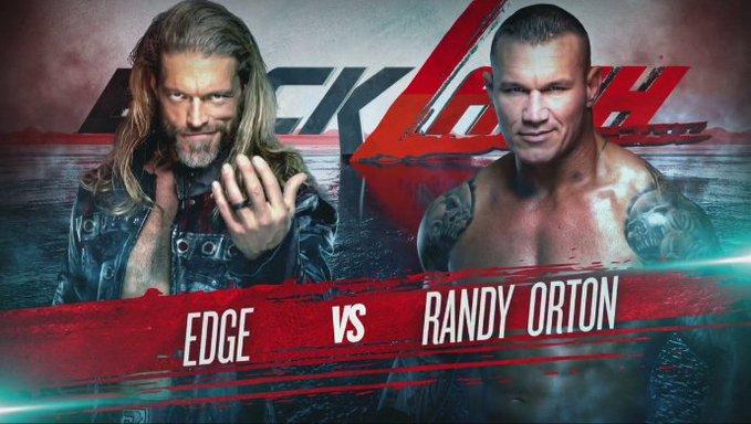 Edge Vs Randy Orton Ii Confirmed For Wwe Backlash Randy Orton Randy Orton Wwe Wwe Ppv