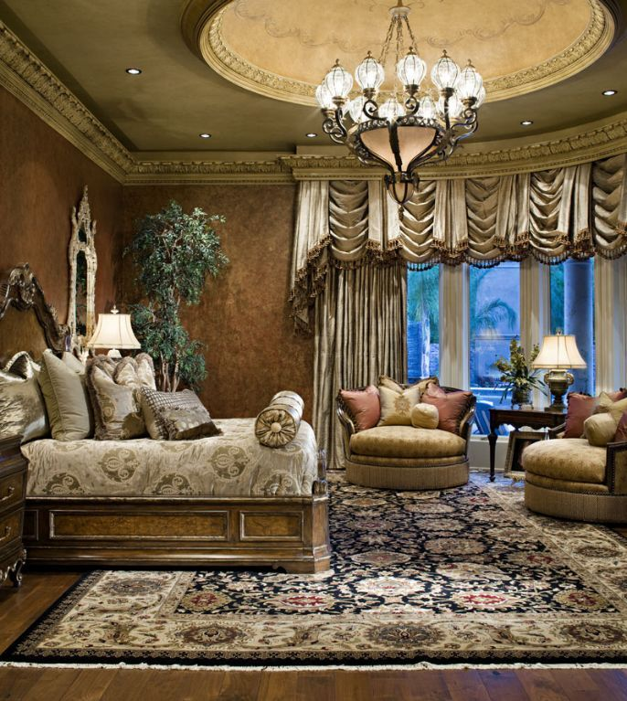 Bedrooms With Traditional Elegance: Traditional, Elegant Master Bedroom #PoshInteriors