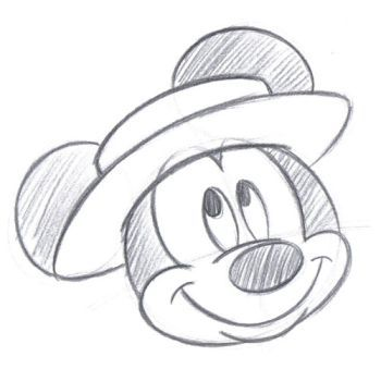 goofy i trained under the disney design group to learn to draw the