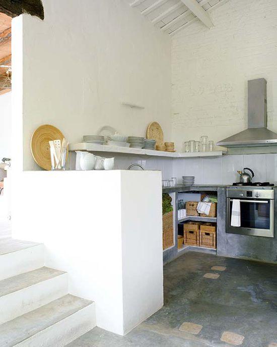 Kitchen stucco Kitchens, Interior design online and Architecture