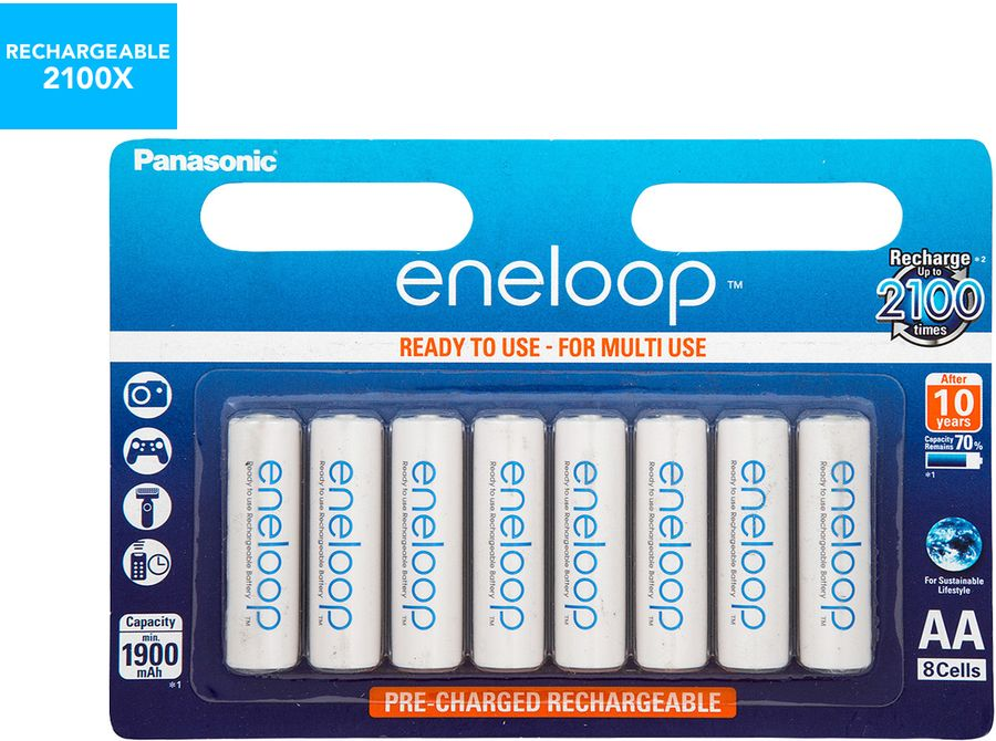 Panasonic Eneloop Rechargeable Aa Aaa Batteries 8 Pack 28 75 26 95 Delivery 0 With Ebay Plus Catch Ebay Panasonic Recharge Aaa Batteries