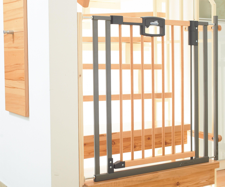 Le Systeme De Securite Easylock De Geuther Pour Les Barrieres Securite Maison Barriere Escalier Barriere De Securite