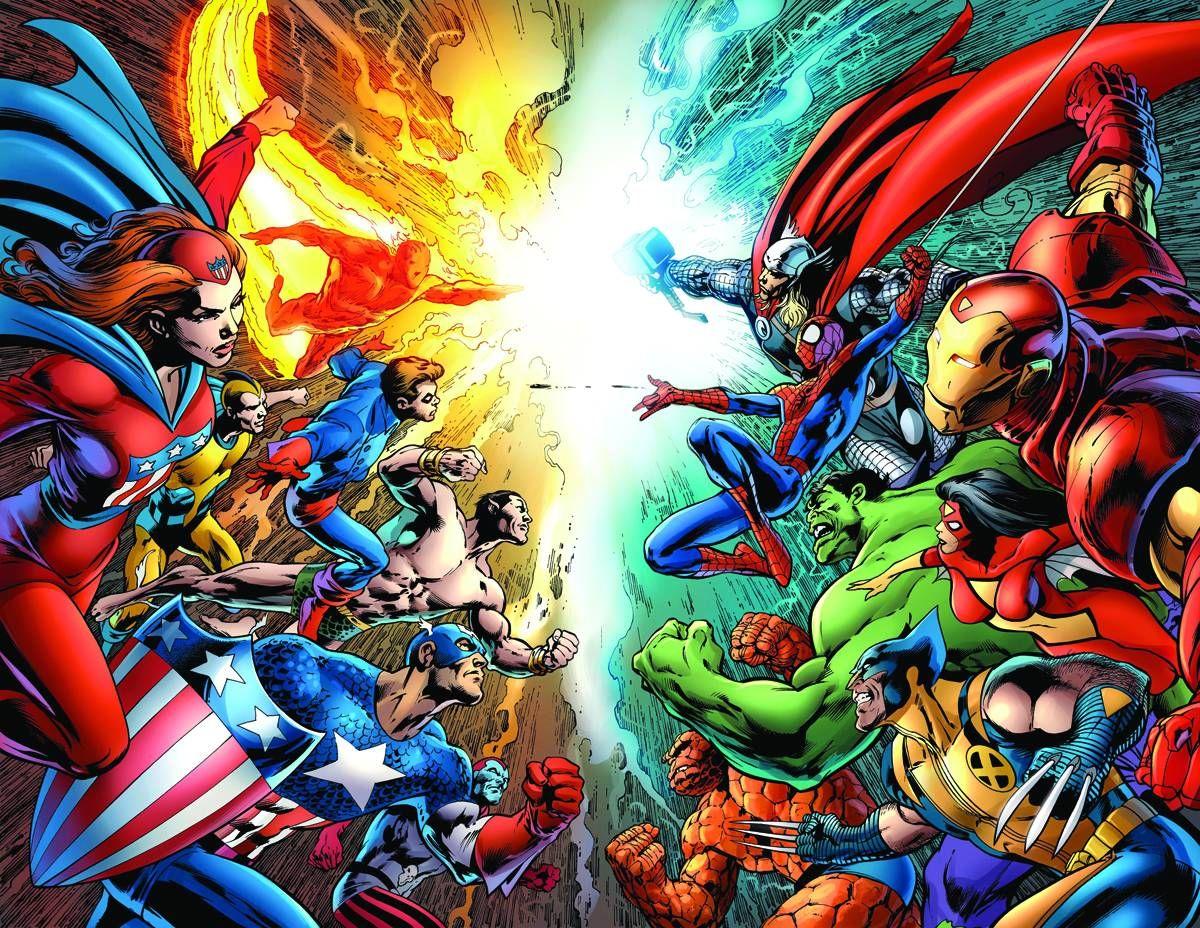 Marvel 70th Anniversary Poster By Alan Davis Superhero Wallpaper