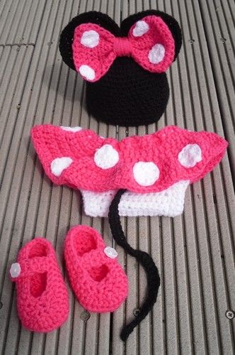 Mickey Girl Costume At Victoria Waldbauer Noelle Crochet Baby