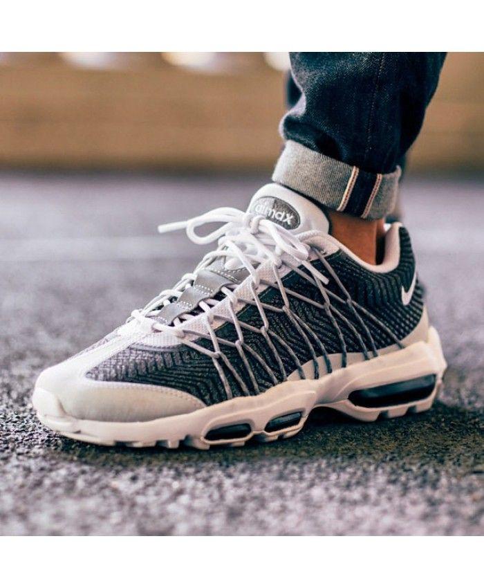 5db4cf01f4d40 Nike Air Max 95 Ultra Jacquard Wolf Grey post image   Smooth Kick s   Nike  air max, Air max, Nike air
