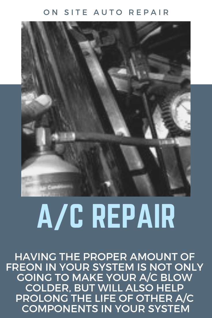 Having your air condition system checked periodically is