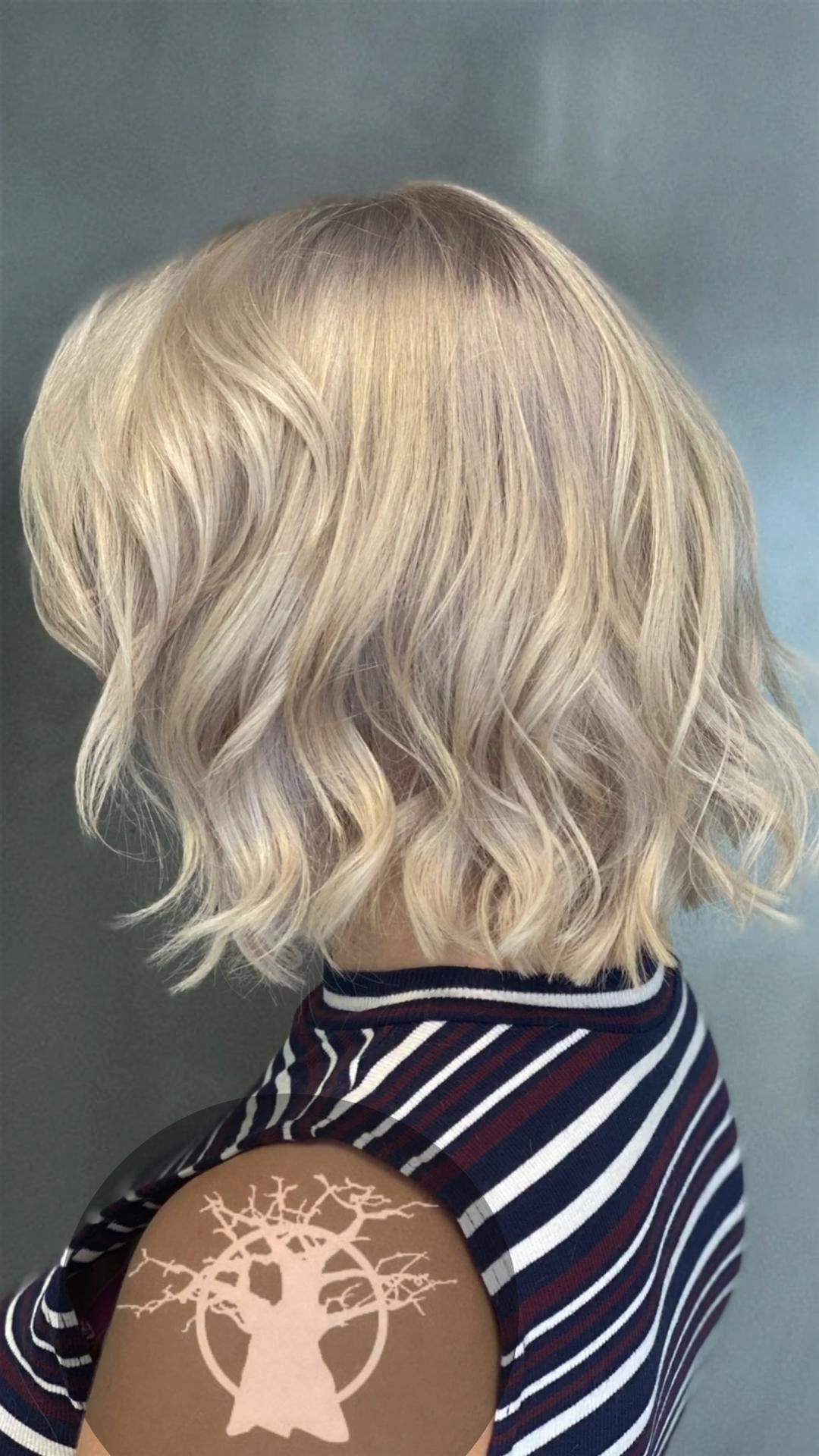 Sliver Hair Video Hair Highlights Hair Color Bleached Hair