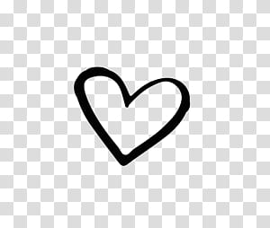 Brand Black And White Heart Hand Drawn Heart Shaped Heart Shape Illustration Transparent Background P Heart Hands Drawing Heart Doodle Black And White Heart