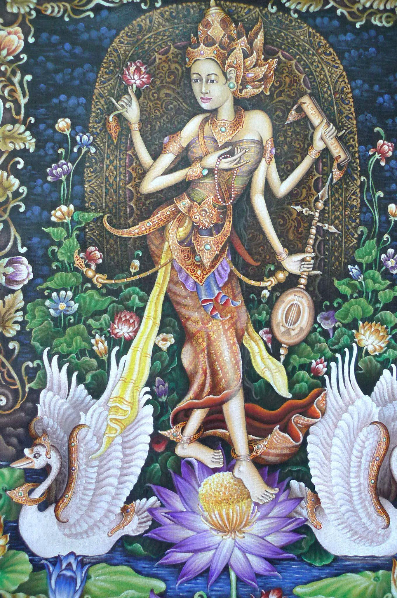 Balinese Lukisan Seni Indonesia