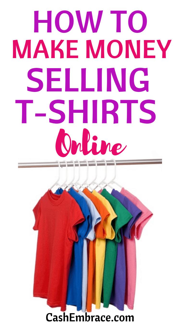 Wie man das Geld verdient, das online T-Shirts verkauft   – Make Money Online
