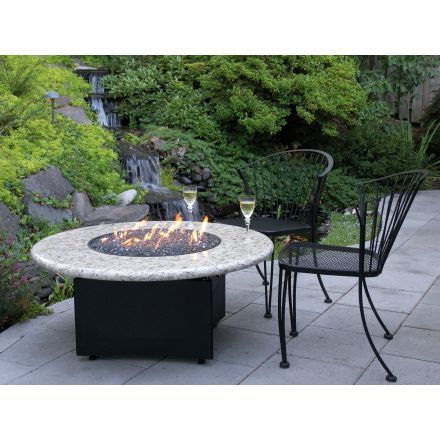 Oriflamme Gas Fire Pit Table Optima Giallo Santo Outdoor Fire Pit Cool Fire Pits Custom Fire Pit