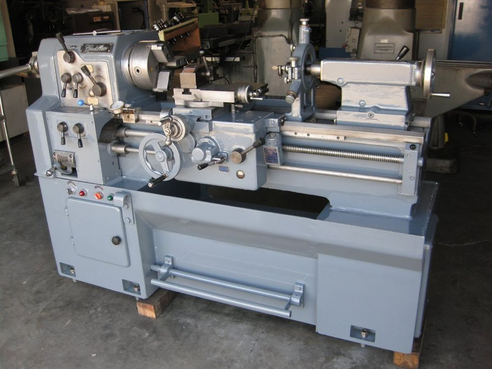 Used Lathes Engine Lathe For Sale Precision Lathes Tool Room >> Gorgeous 1984 Cadillac 14 X 28 Toolroom Engine Lathe Absolutely