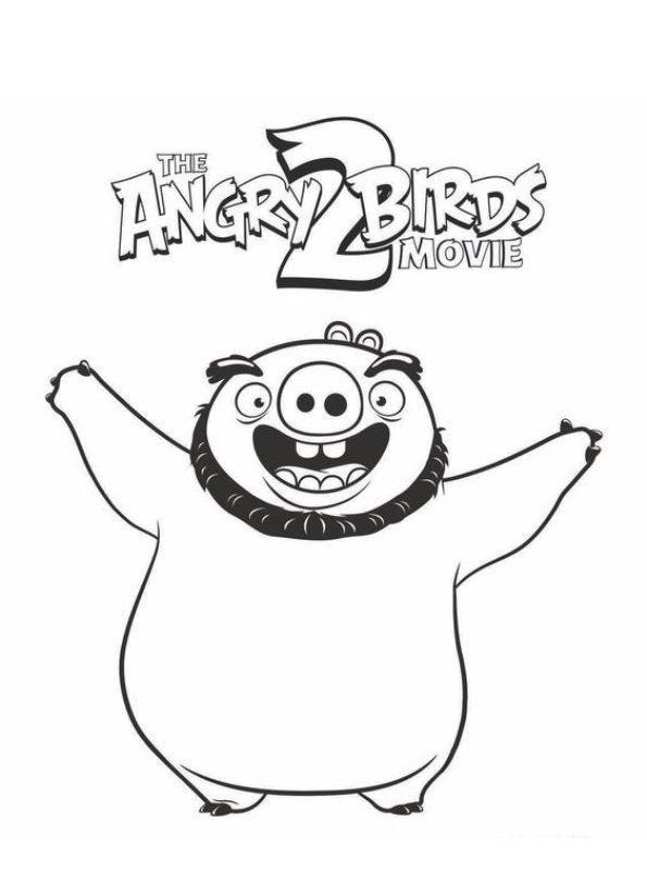 Angry Birds Coloring Games Kids N Fun Fall Coloring Pages Halloween Coloring Pages Bird Coloring Pages