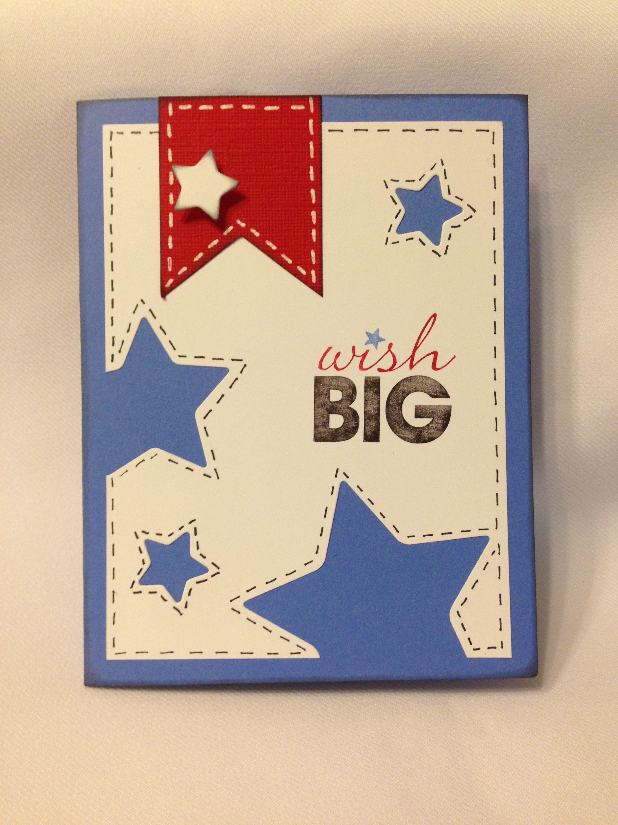 Fourth Of July Birthday Card