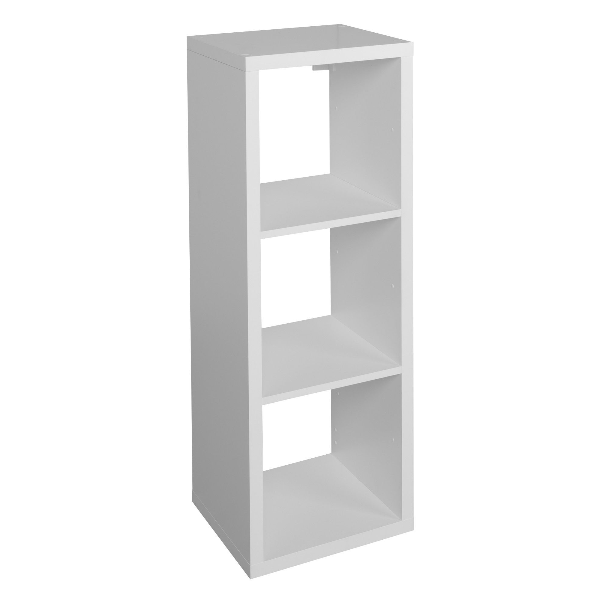 Form Mixxit White 3 Cube Shelving Unit H 1082mm W 390mm Rooms