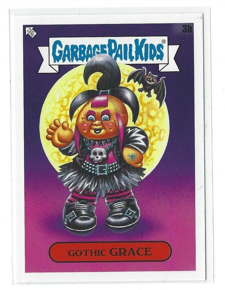 2020 Garbage Pail Kids Late To School Gothic Grace 3b Class Superlatives Gpk Nm Garbagepailkids
