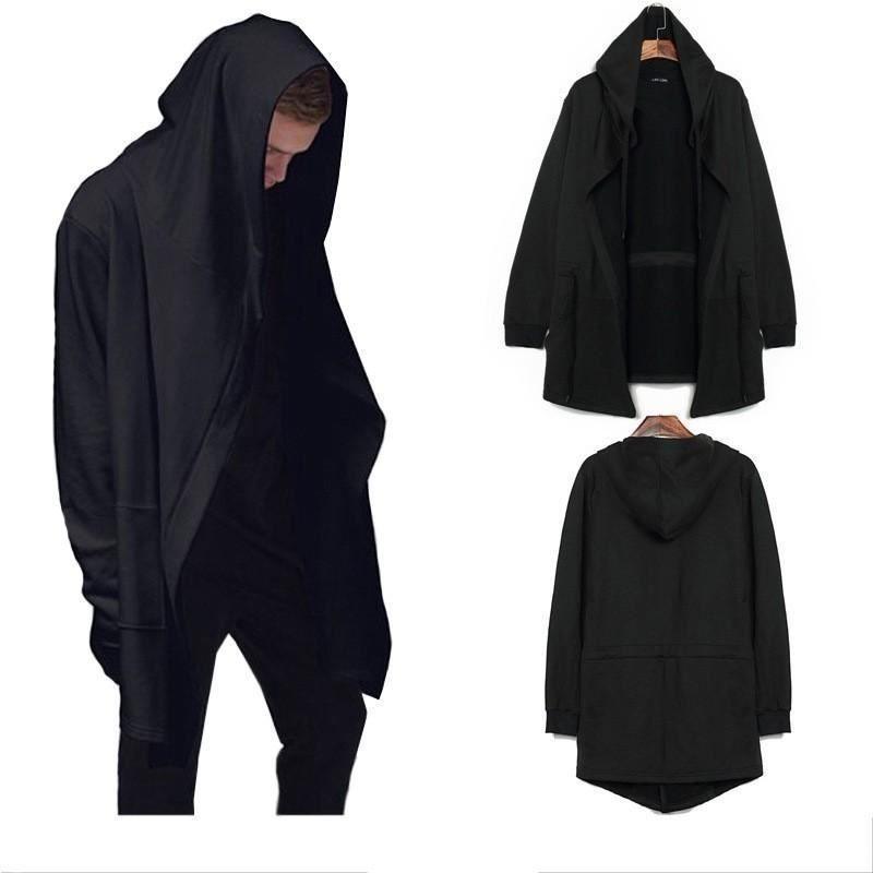 22f12204c14f Latest Men Hooded Hip Hop Mantle Men Hoodies and Sweatshirts long Sleeves  Coat O