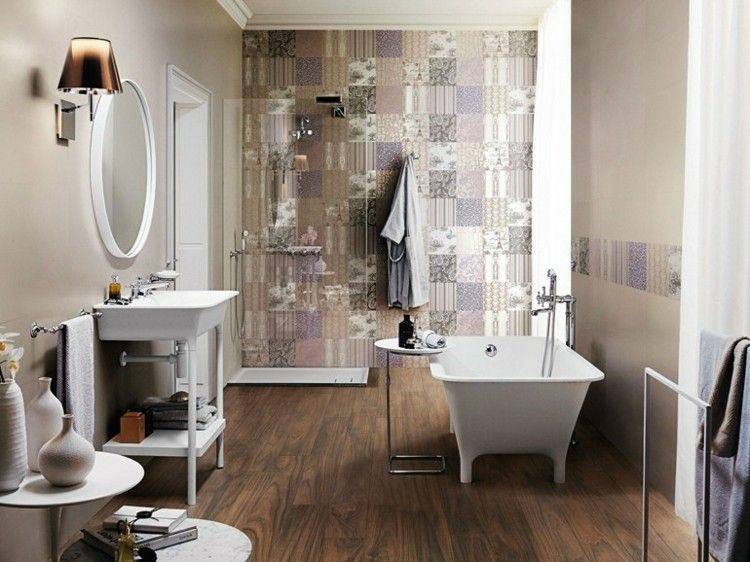 Carrelage mural salle de bain idées et astuces design