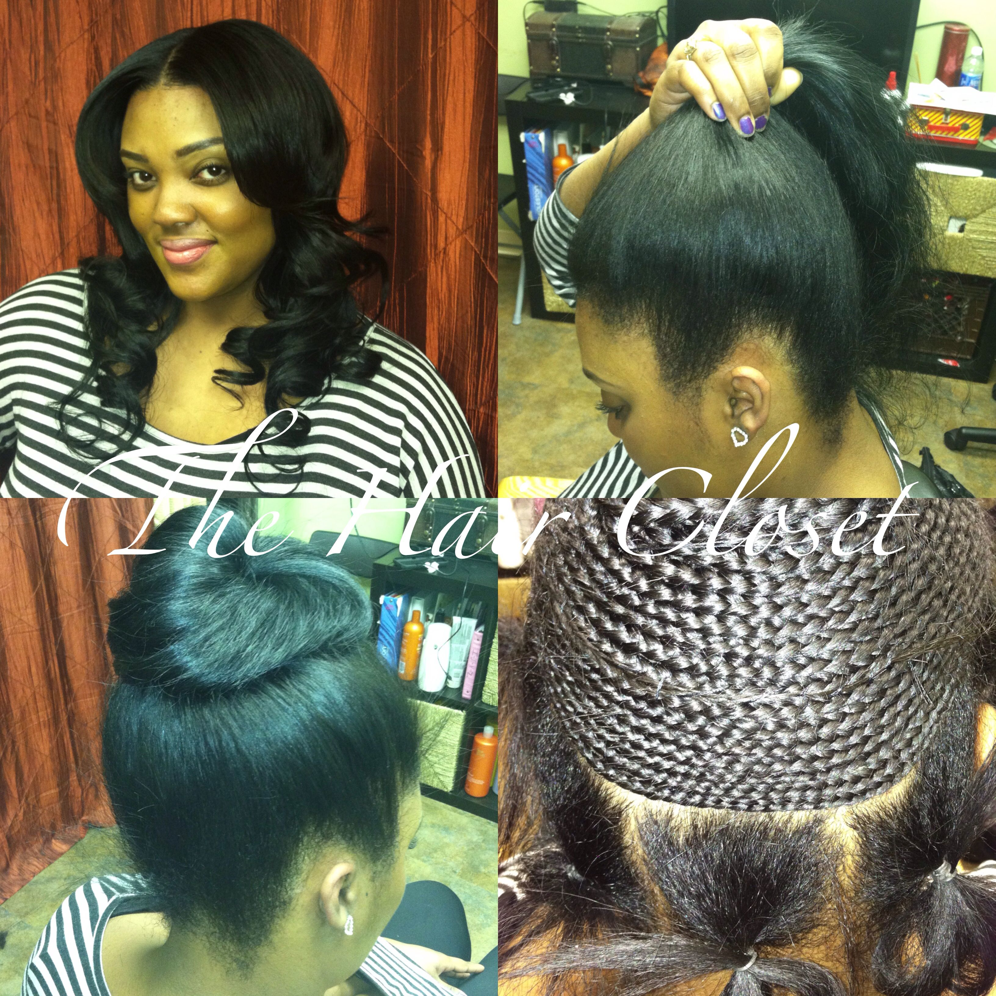 Ponytail Sew In