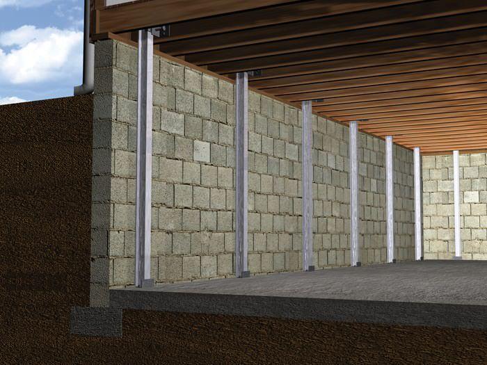 The powerbrace wall repair system installation in ohio i beam the powerbrace wall repair system installation in ohio i beam system for failing basement solutioingenieria Choice Image