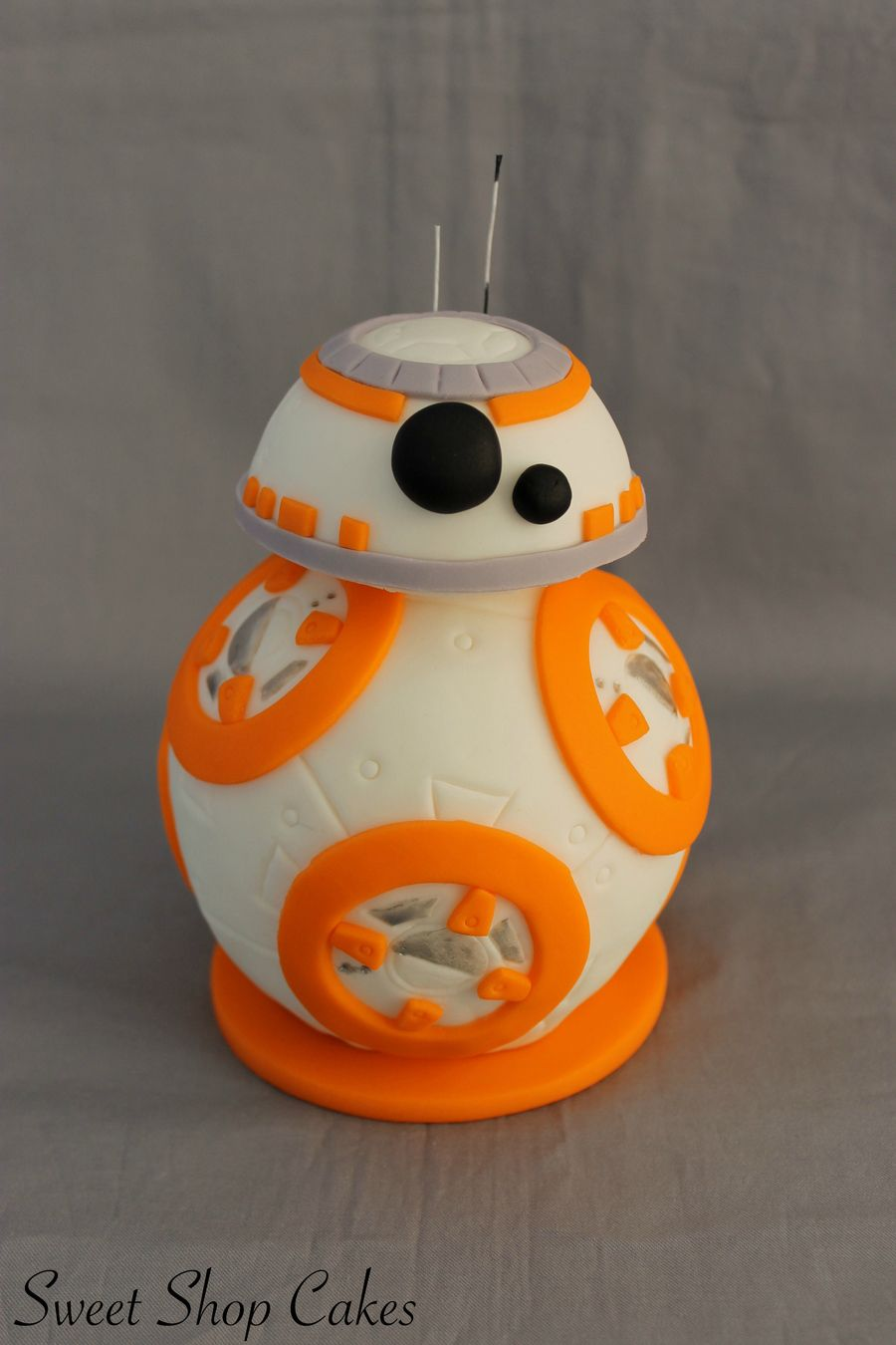 r2d2 and bb8 wedding cake topper bb 8 cake topper on cake central wars 18949