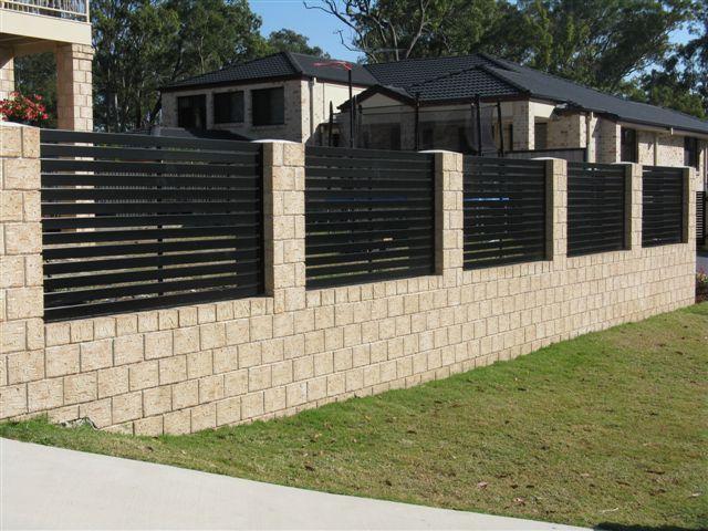 Horizontal Slat Fence Panels Minimum Gap Fence Gate Design