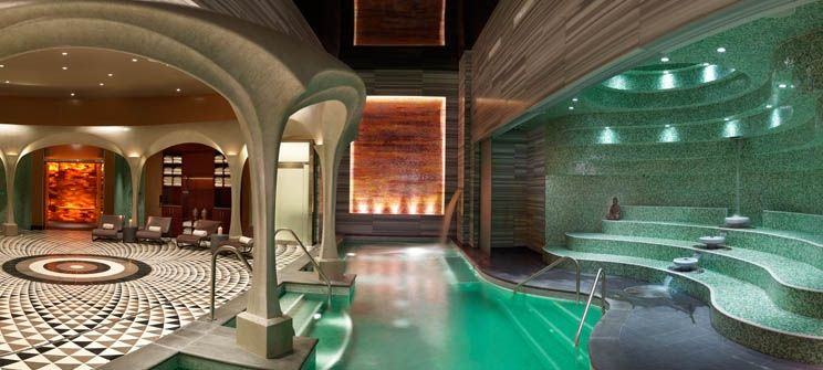 Atlantic City Bask By Exhale And Reve With Images Luxury Hotel Best Spa Atlantic City