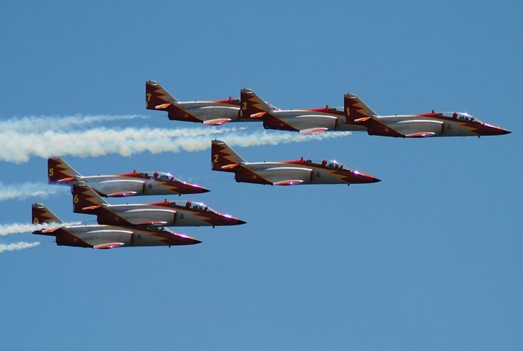 Patrulla Aguila - CASA C-101EB Aviojet - Spanish Air Force