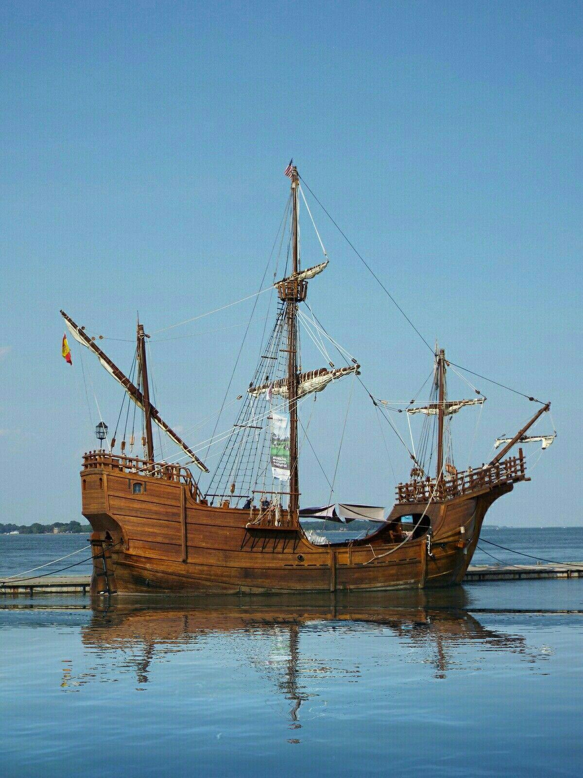 Pin By Ttc Media On The Santa Maria Christopher Columbus Flag Ship Sailing Christopher Columbus Sailing Ships