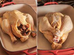Cómo Hacer Un Pollo Relleno Al Horno Pollo Relleno Al Horno Pollo Relleno Receta Pollo Relleno