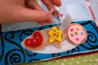 Schaer Talents: Cookie Quiet Book