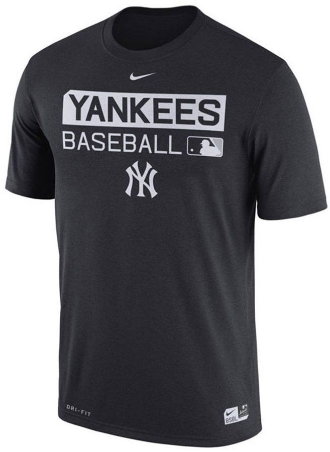 db333bac Nike Men's New York Yankees Legend Team Issue Dri-fit T-Shirt ...
